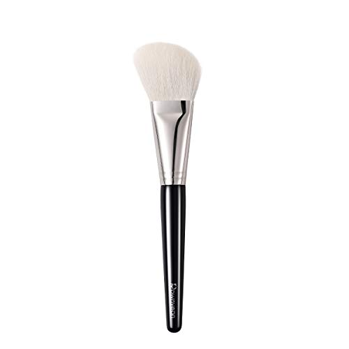 Rownyeon Contour Brush Angled Contouring Makeup Brushes Sculpting Brush Large Blush Brush Face Brush for Bronzer Cream Powder with 100% High-end Goat Hair Bristle and Quality Wooden Handle, S02 1pc