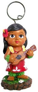 Hawaiian Place Card Holder Keiki with Ukulele