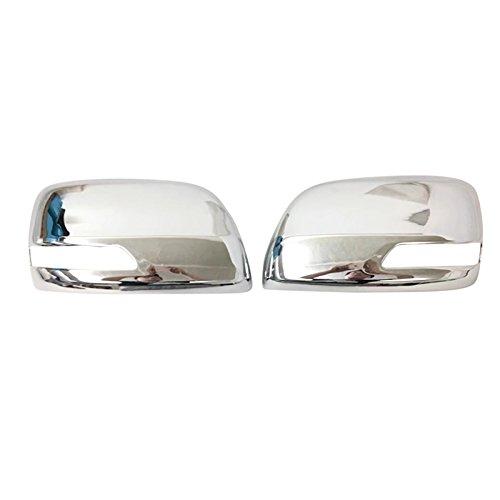 ITrims ABS Chrome Exterior Rear View Mirror Cover Trim 2PCS For Toyota Land Cruiser Prado FJ150 J150 2010-2018