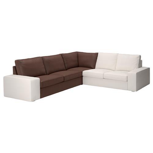Unbekannt IKEA Kivik Funda para Esquina Elemento en borred marrón ...