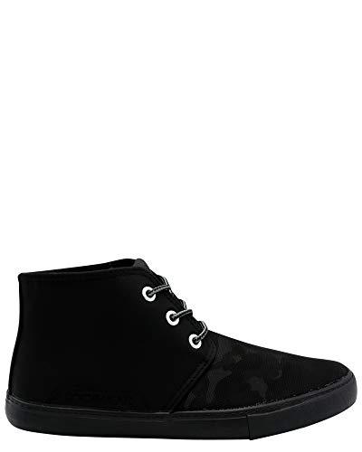 Rocawear Men's Chukka Camo Print Shoe,Black/Camo,10.5 ()