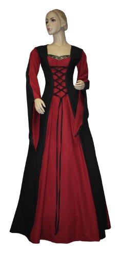 Gr Gewand Eva Mittelalter Kleid 38 K07 Mittelalterkleid LARP Gothic wtqBn05xz