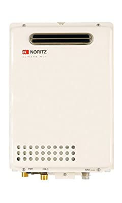Noritz NR501-OD-NG Outdoor Tankless Water Heater 5.0 Gpm, Natural Gas