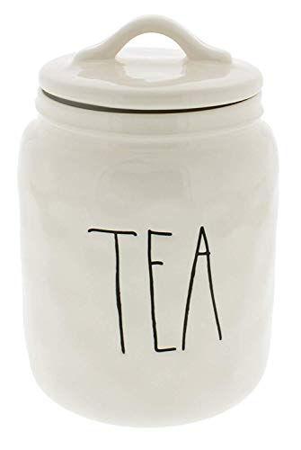 Rae Dunn Large/Long Letter Tea Canister Artisan Collection