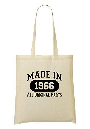 Made In 1966 Al Original Parts Cool Bolso De Mano Bolsa De La Compra