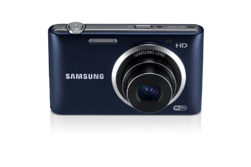Samsung ST150F 16.2MP Smart WiFi Digital Camera with 5x Optical Zoom and 3.0'' LCD Screen (Black) by Samsung (Image #5)