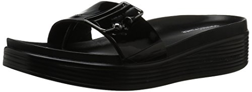 Donald J Pliner Women's Fara Slide Sandal, Black, 7 Medium US by Donald J Pliner