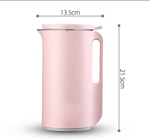 MBBJJ 350ml ménages Petite Rose Machine de Cuisson Mignon, Juicer de soja Machine Lait Pratique