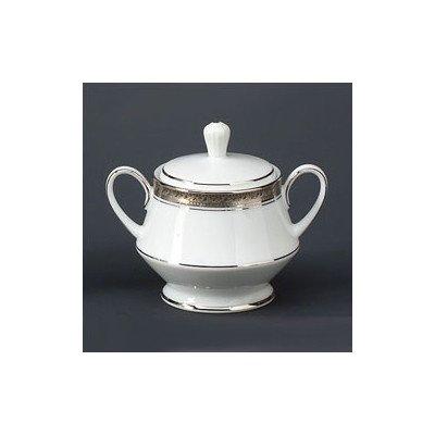 Noritake Crestwood Platinum Sugar Bowl with - Bowls Noritake Porcelain