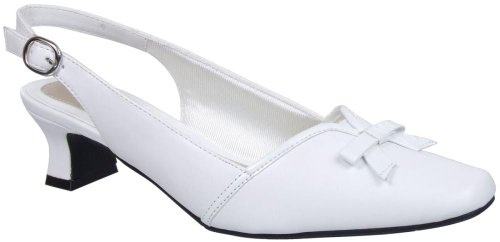 Easy Street Women's Mercury Wedge Pump White buy cheap best place buy cheap find great discount looking for sale popular sast cheap price m41mtJ