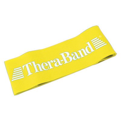 Exercise Loop Size: 12'', Resistance/Color: Thin/Yellow by TheraBand