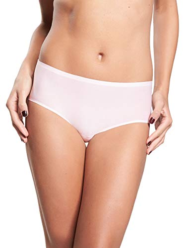 Chantelle Women's Soft Stretch Regular Rise Hipster, Blushing Pink, One Size