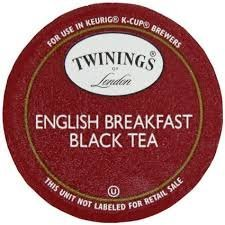 Twinings English Breakfast Tea, K-cup Portion Count 96-count
