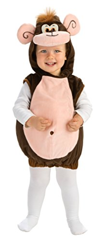Rubie's Deluxe Baby Monkeyin' Around Costume - Toddler (1-2 (Curious George Baby Costumes)