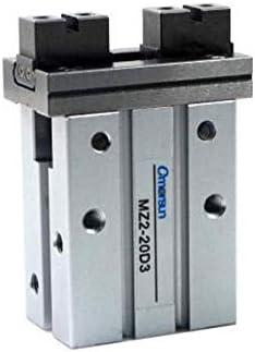 LZP-PP Wohnung Typ eloxiertes Aluminium Parallel-Linearführung Air Gripper 20mm Bore Double Acting MZ2-20D3 pneumatische Anlagen