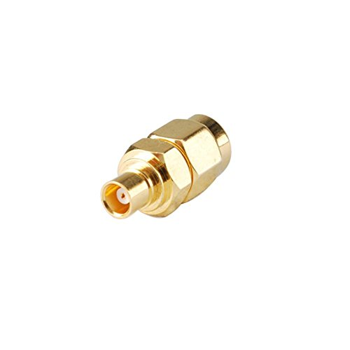 DHT Electronics RF coaxial coax adadpter SMA male to MCX female