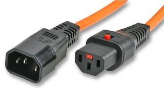 PIKE y CO® Bloqueo de cierre de cable de alimentación hembra 1,5M [pe0446]–W/min 3yr Garantía