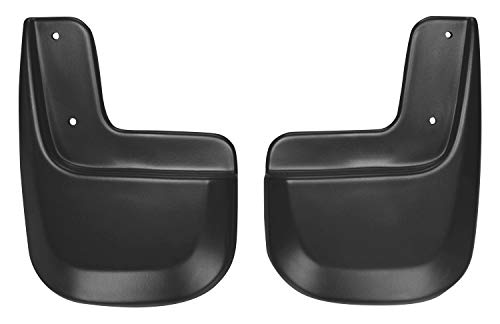 Husky Liners Fits 2007-14 Ford Edge – with Standard or Optional Cladding Custom Rear Mud Guards,Black,59411