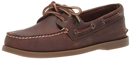 Sperry Men's A/O 2-Eye Richtown Boat Shoe Oxford,Brown,12   Medium