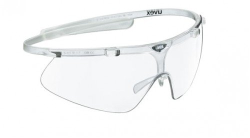 Uvex Lite Shield PRO Small Occhiali da sole sportivi di Clear LTM Silver S3 31xinm