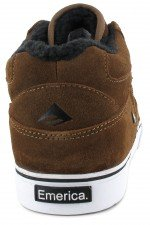 Emerica Men's HSU SHERPA Low-Top Brown/White jNxSbG