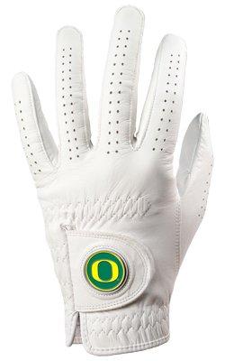 LinksWalker Oregon Ducks Golf Glove & Ball Marker - Left Hand - X Large ()