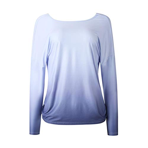 Top Courtes Chemisier Dcontract Col V Solid Bleu Femme DAYLIN Manches 7ZqO0d7