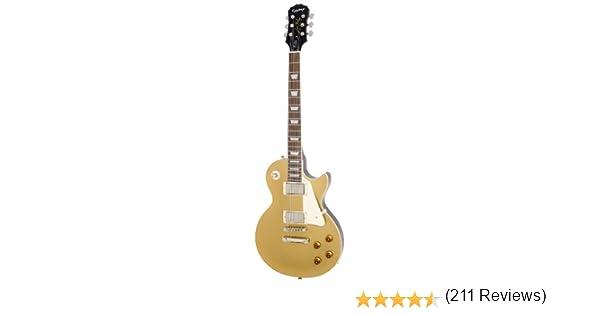 Epiphone Les Paul Standard - Guitarra eléctrica, color metallic ...