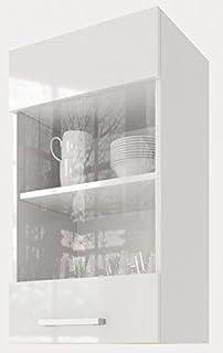 Amazon.de: Flex-Well Glas-Hängeschrank UNNA | Oberschrank vielseitig ...