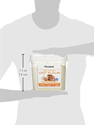 Weider Nutrition Weider Oat Gourmet, Harina de Avena Integral, Sabor Cookie Dough - 1900 gr 1 Unidad 750 ml