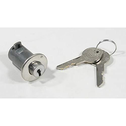 Eckler's Premier Quality Products 55-195087 - El Camino Glove Box Lock, - Box El Glove Camino
