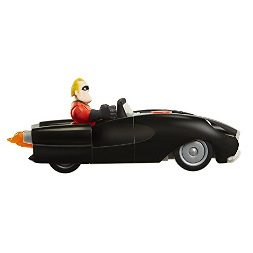 The Incredibles 2 Incredibile Car & Mr. Incredible Junior Supers Action Figure Play Set