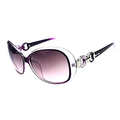 Fashion?Life Women Shades Oversized Eyewear Classic Designer Sunglasses UV400-Purple -