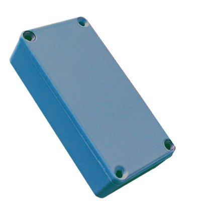 Hammond 1590GBU Blue Diecast Aluminum Enclosure - Inches (3.94