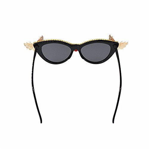 Baroque Gafas de Personalidad Sol Moda Sol Flower de Metal Butterfly Gafas Style Crystal Playa Cat Show de Personalidad Mujer Gafas para Eyes Gafas Oversized Sol Proteccion Fashion Sol de d Tonos de wp4gxqSnX5