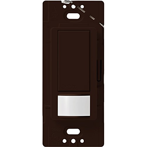 Price comparison product image Lutron Maestro Sensor switch, 2A, No Neutral Required, Single-Pole, MS-OPS2-BR, Brown