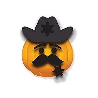 (Ship from USA) Silly Stoops Easy Pumpkin Decorating Character Kit DEPUTY DAVE BHH /ITEM#H3NG UE-EW23D30794