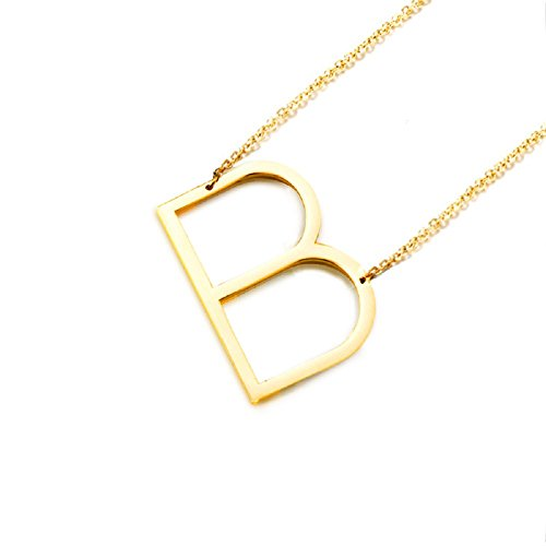 Diane-Loren-18kt-Gold-Womens-Classic-Stainless-Steel-Big-Letter-Necklace-Sideways-Initial-Chain-Script-Pendant-Name-Long-Necklaces-for-Women-Gold-Letters-A-Z-Available