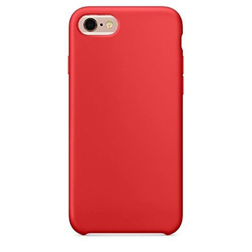 Phone Case & Hülle Für iPhone 6 Plus und 6s Plus reine Farbe flüssiges Silikon + PC schützende rückseitige Abdeckungs-Fall ( Size : Ip6p0423a )