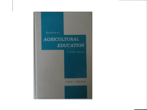 Handbook on Agricultural Education in Public Schools (5th Edition)
