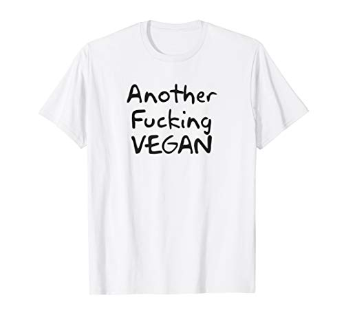 Streetwear Vintage Another Fucking Vegan Funny Aesthetic T-Shirt