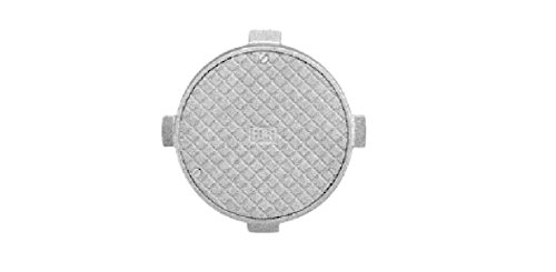 IPS 65303 Cleanout Floor Cover 6'' Round Crown by IPS