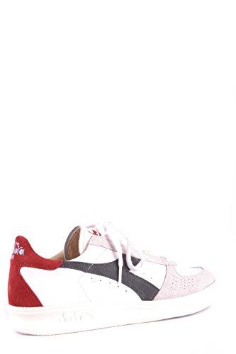 Diadora Heritage Men Mcbi094075o Sneakers In Camoscio Bianco