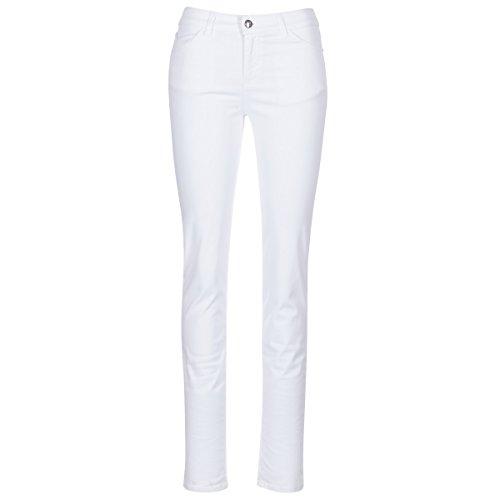 Slim Blanc Armani Femmes Jeans Blanc fit Pocket 5 tnqxfqgwUH
