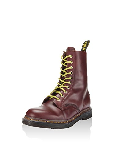 Dr. Martens Mens Austins 10 Eye Lace Up Casual Boot Oxblood