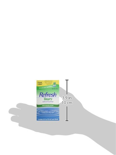 Refresh Tears Lubricant Eye Drops, 0.5 Fl Oz (2 Count)