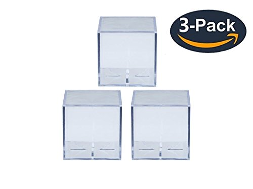 (Ultra Pro UV Protected Baseball Squares - Pack of 3)