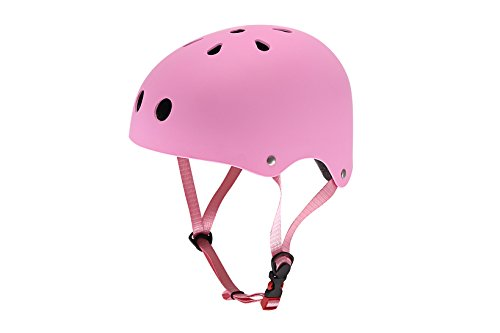 HOMEE Multi-sport children Skateboarding Skating rollerblade Cycling motorcycle bicycle Safety Bike motorbike riding Helmet for Kids protec safeguard head riding karting skiing waterproof- pink