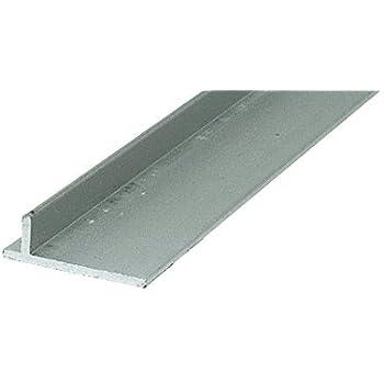 CRL Aluminum Sliding Screen Door Rail - 120 in long