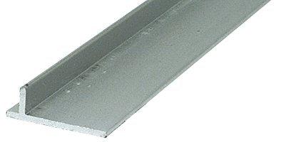 CRL Aluminum Sliding Screen Door Rail - 96 in long
